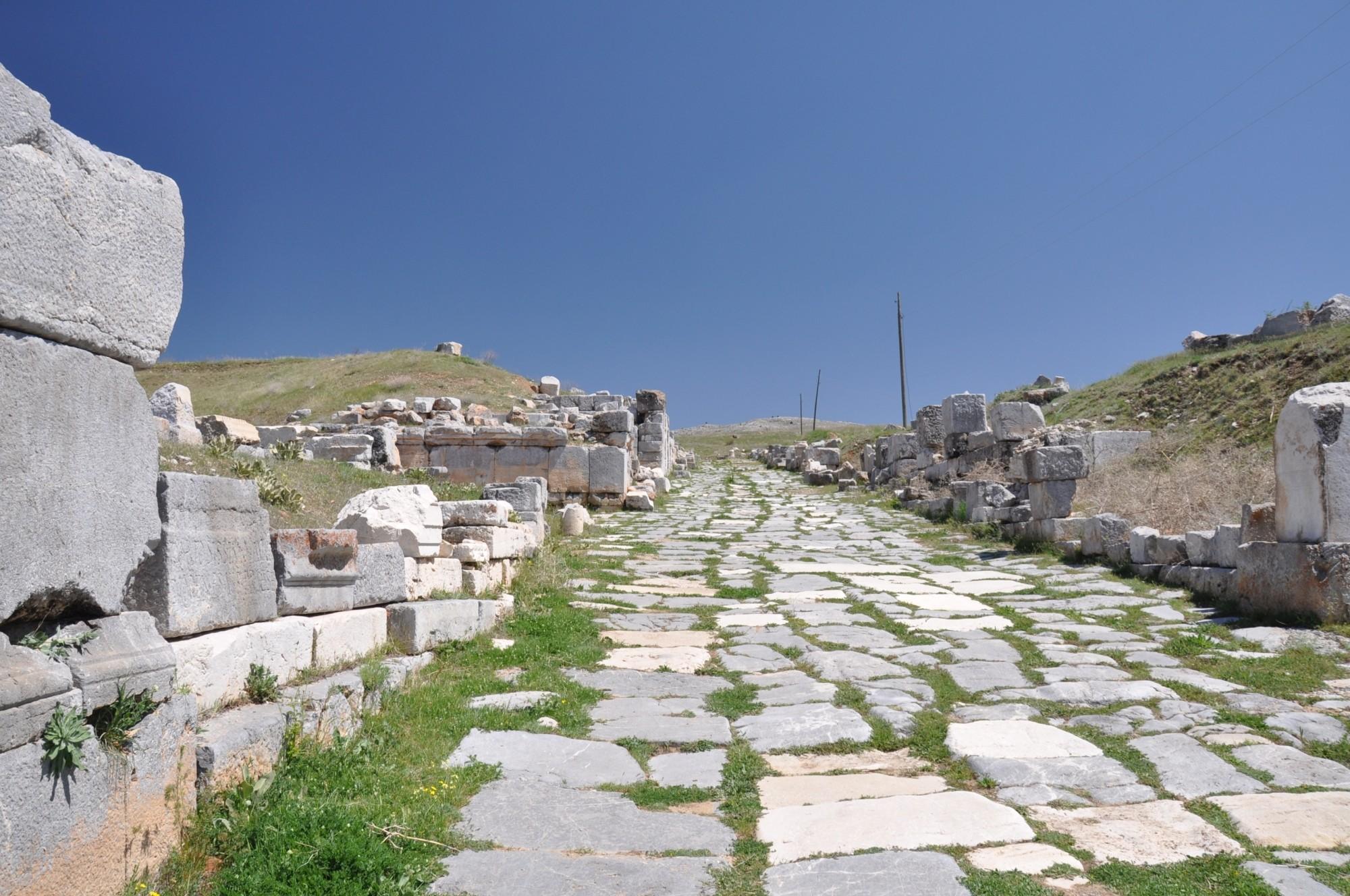Decumanus Maximus w Antiochii Pizydyjskiej
