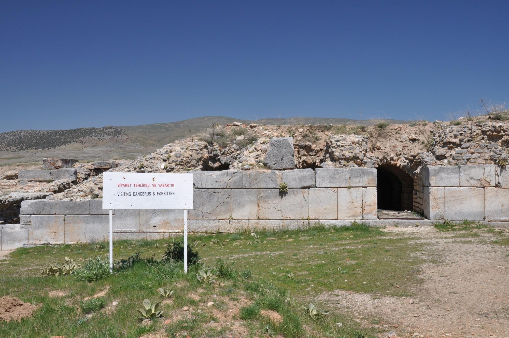 Tzw. łaźnie rzymskie w Antiochii Pizydyjskiej