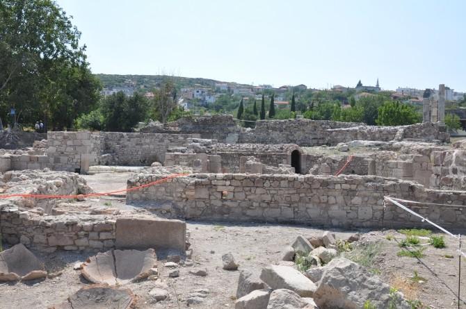 Świątynia Apollon Smintheion  Turcja w Sandałach