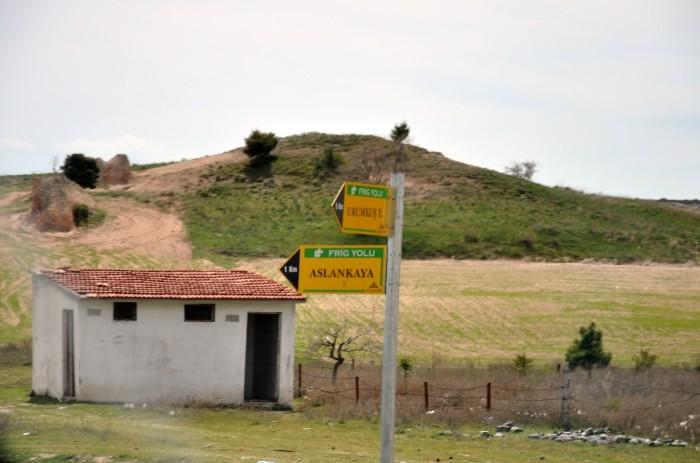 Kierunkowskaz do Aslankaya