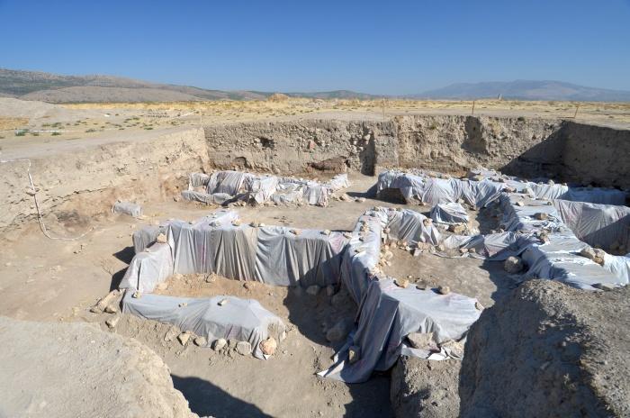 Teren wykopalisk archeologicznych w Beycesultan