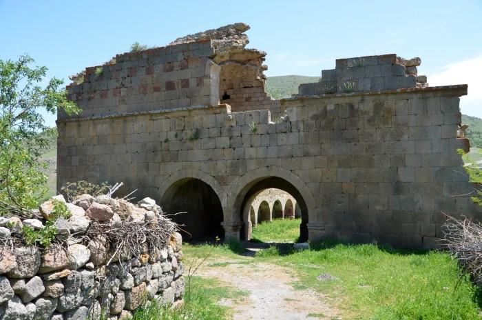 Ruiny bizantyjskiego kościoła w Madenşehri