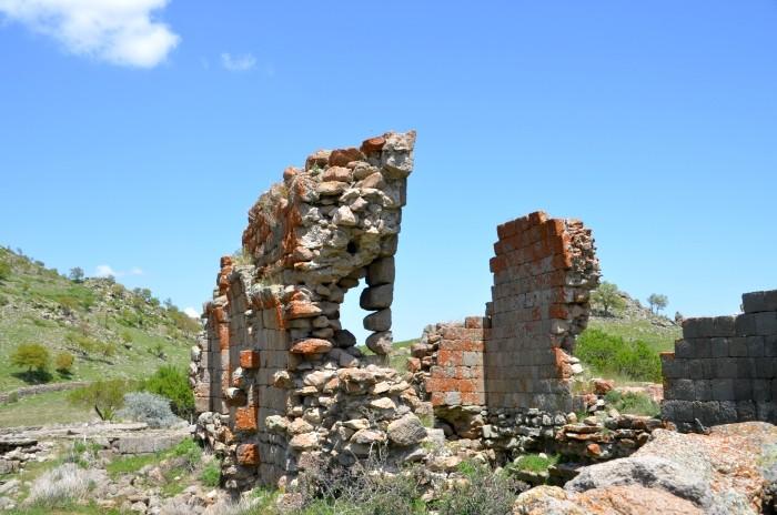 Bizantyjskie ruiny w Üçkuyu