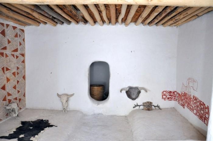 Wnętrze Domu Eksperymentalnego