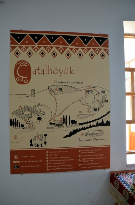 Trasa zwiedzania Çatalhöyük