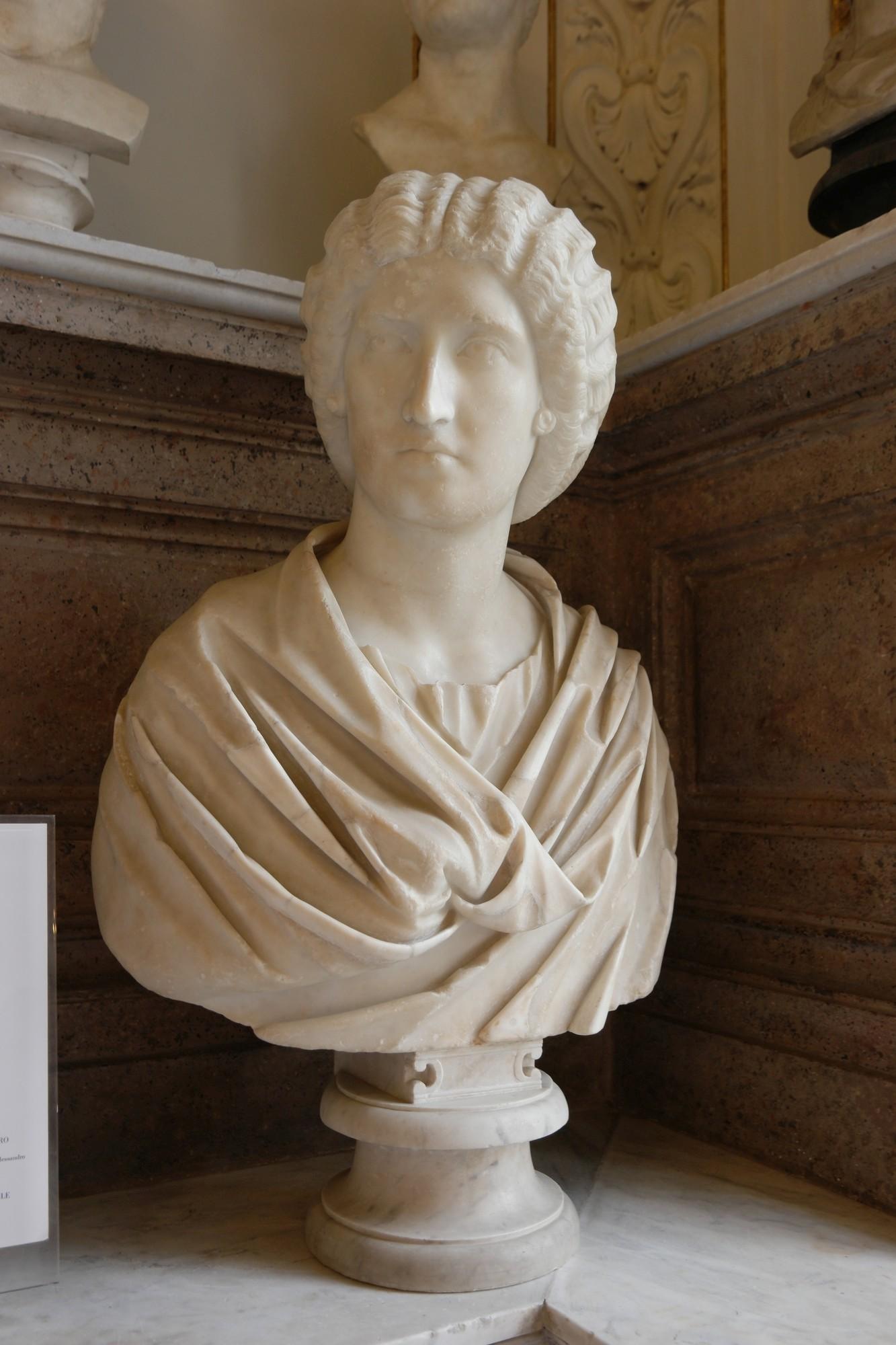 Julia Domna, popiersie ze zbiorów Muzeów Kapitolińskich