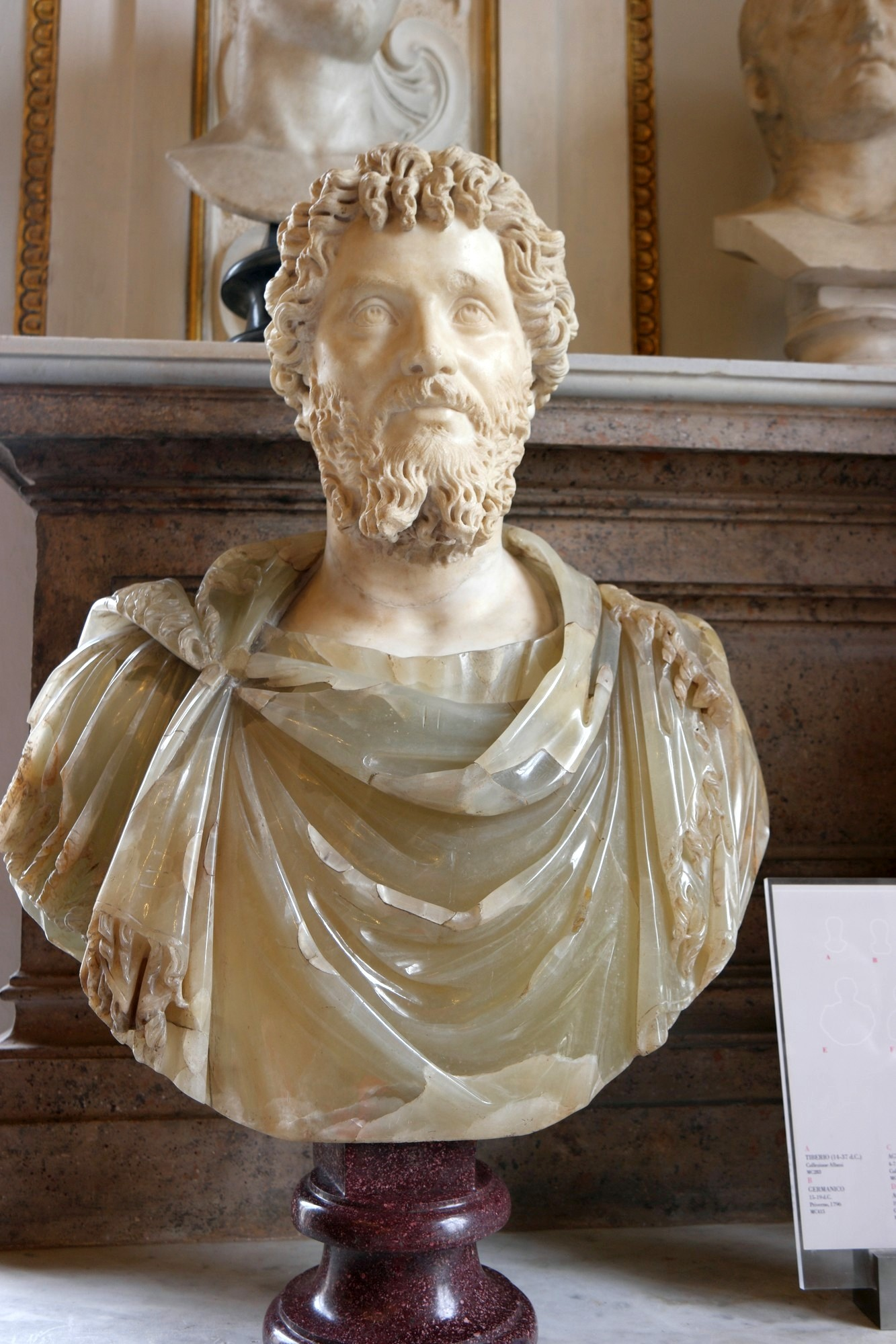 Cesarz Septymiusz Sewer, popiersie ze zbiorów Muzeów Kapitolińskich