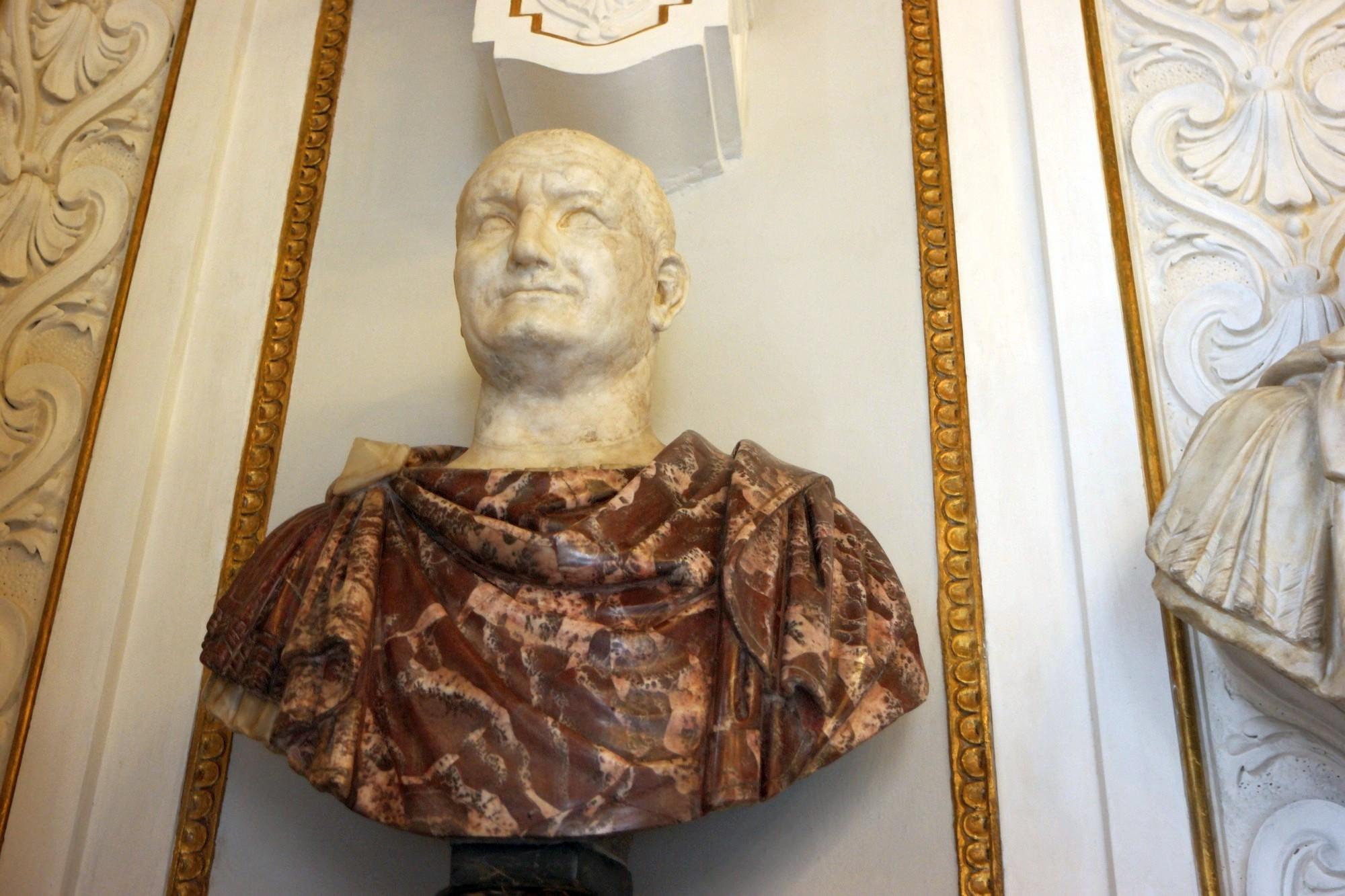 Cesarz Wespazjan, popiersie ze zbiorów Muzeów Kapitolińskich