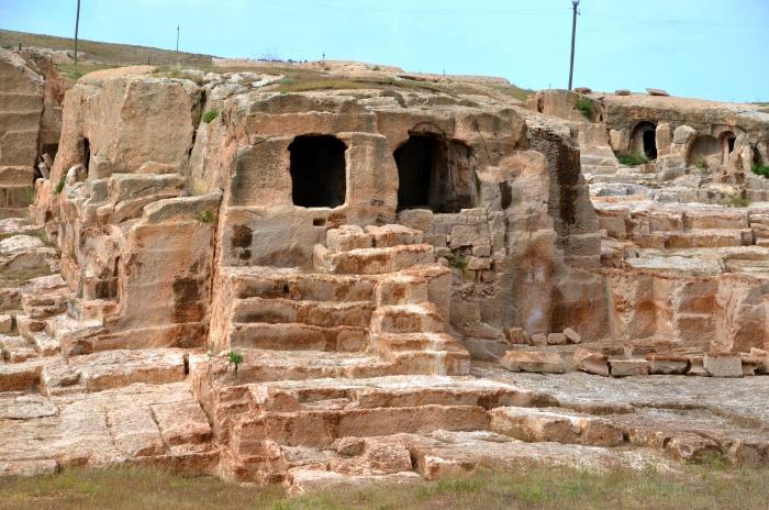 Nekropolia w mieście Dara
