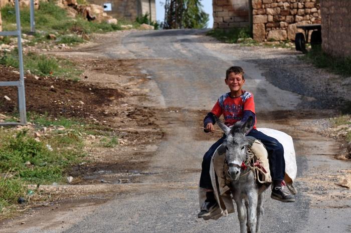 Alternatywny pomysł na transport po wiosce Oğuz