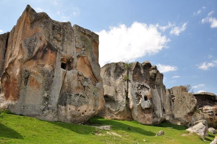 Aslantaş w dolinie Göynüş