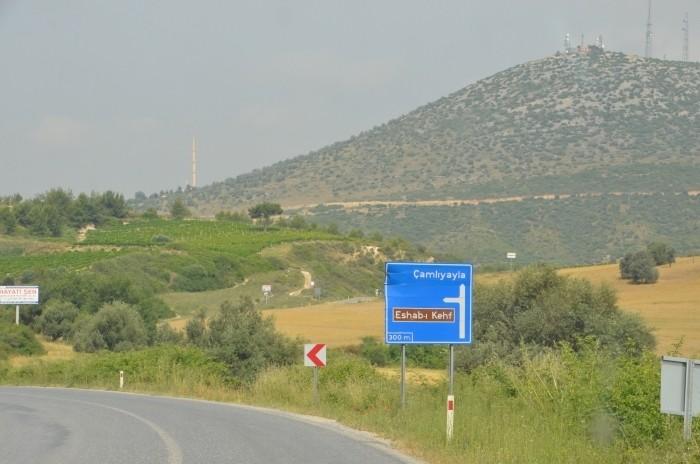 Jeden z tysiąca kierunkowskazów do Eshab-ı Kehf