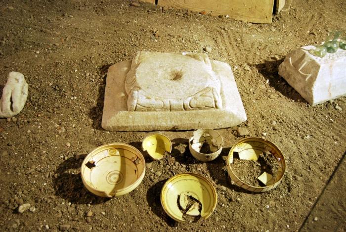 Ekspozycja obiektów z Adrianopola w Muzeum Archeologicznym i Etnograficznym w Edirne