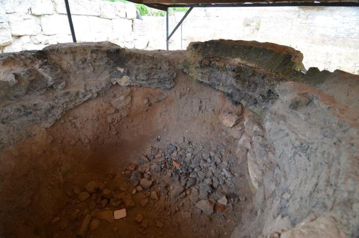 Bizantyjski piec do wypalania ceramiki