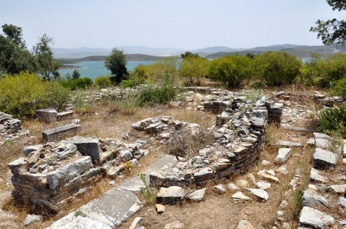 Pozostałości bazyliki chrześcijańskiej w Iasos