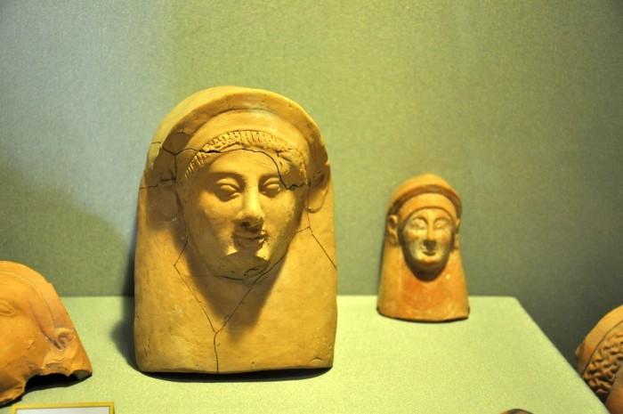 Eksponaty z Iasos wystawione w Muzeum Archeologicznym w Milasie