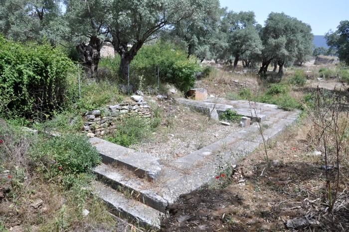Pozostałości po świątyni Artemidy Astias