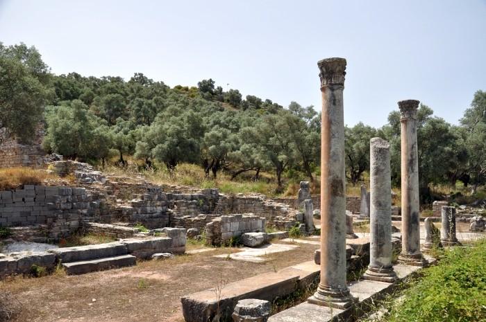 Stoa przy agorze w Iasos