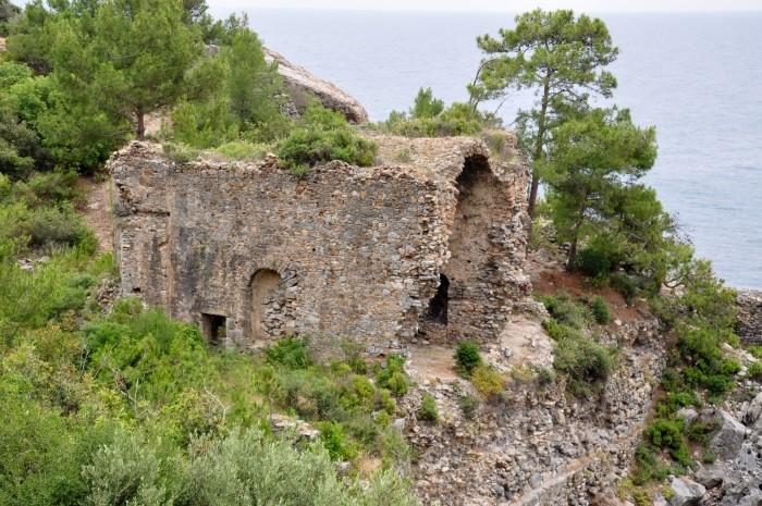 Bizantyjski kościół w Iotape