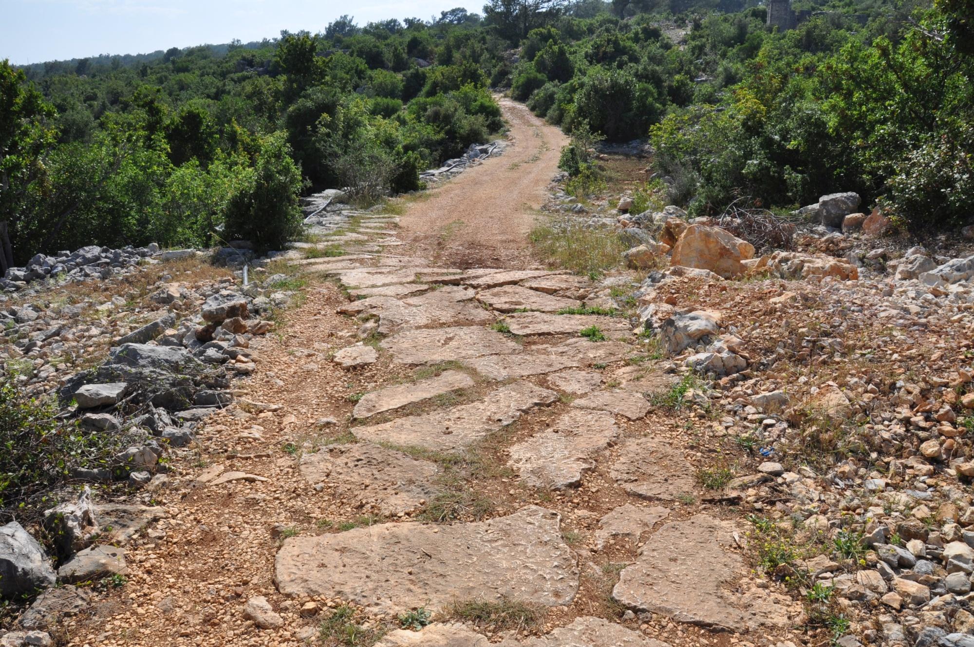 Rzymska droga w Işıkkale