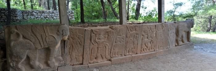 Ortostat z bramy północnej twierdzy Karatepe