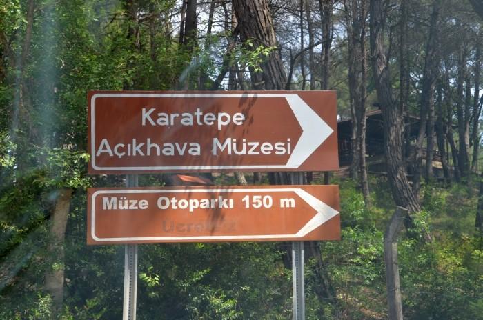 Kierunkowskaz do Karatepe