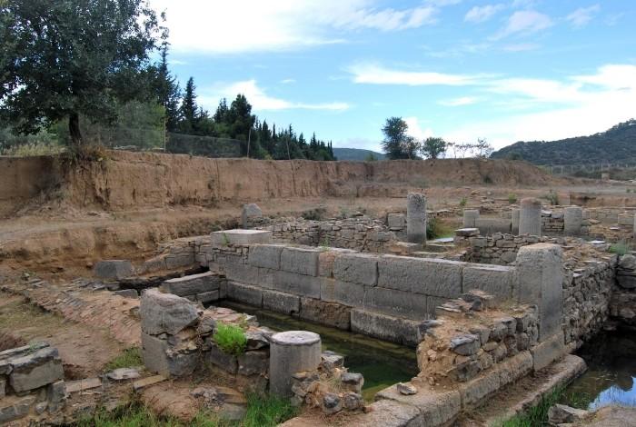 Teren wykopalisk w Klaros