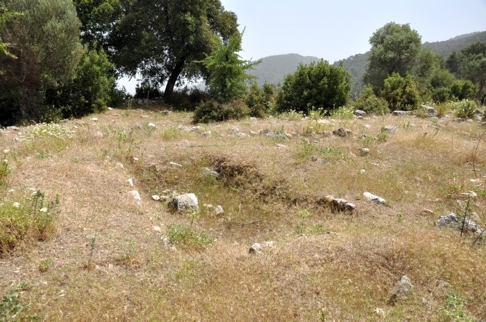 Ślady po wykopie archeologicznym