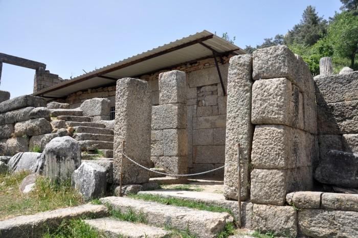 Dom tarasowy w Labrandzie