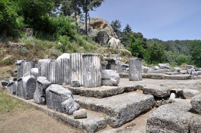 Labranda - ruiny świątyni Zeusa