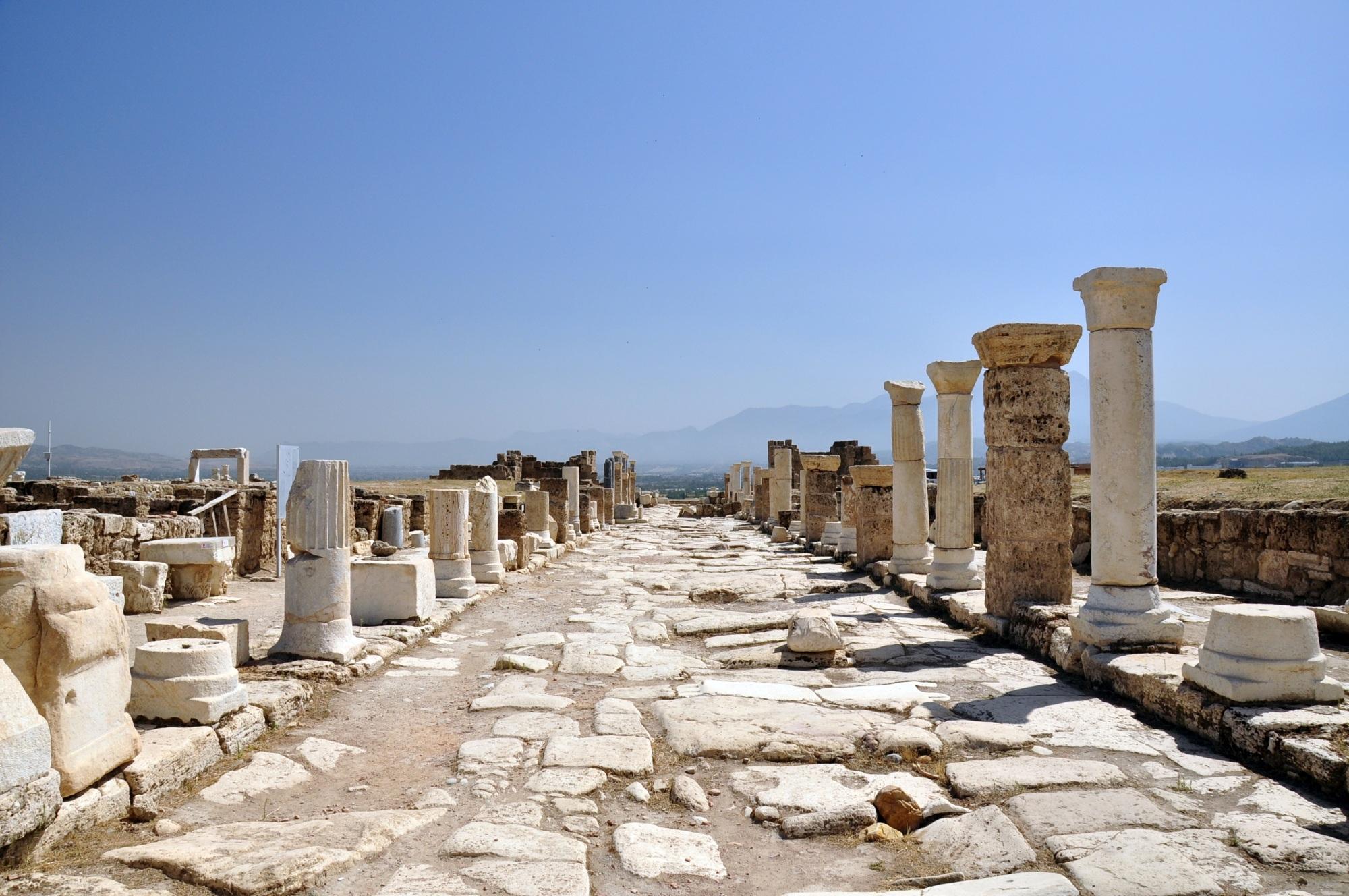 Ulica Syryjska w Laodycei