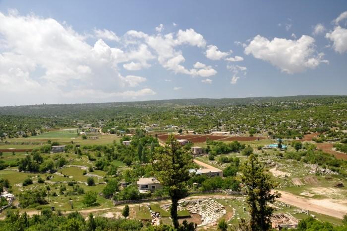 Widok z akropolu w Olbie