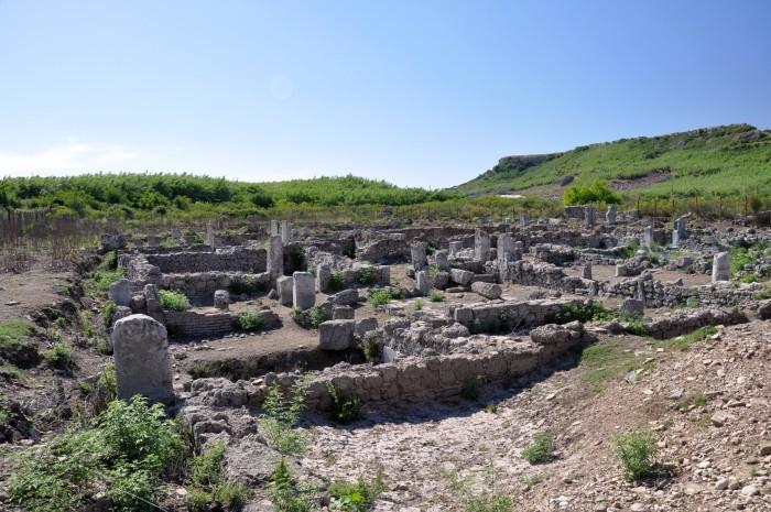 Pozostałości domów mieszkalnych w Perge