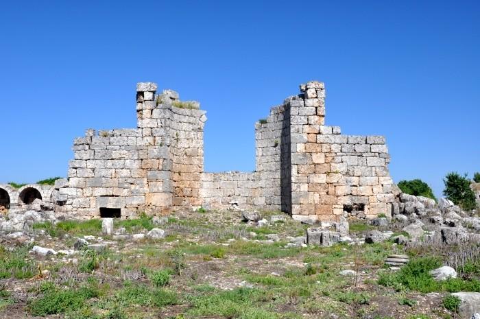 Kościół z VI wieku w Perge