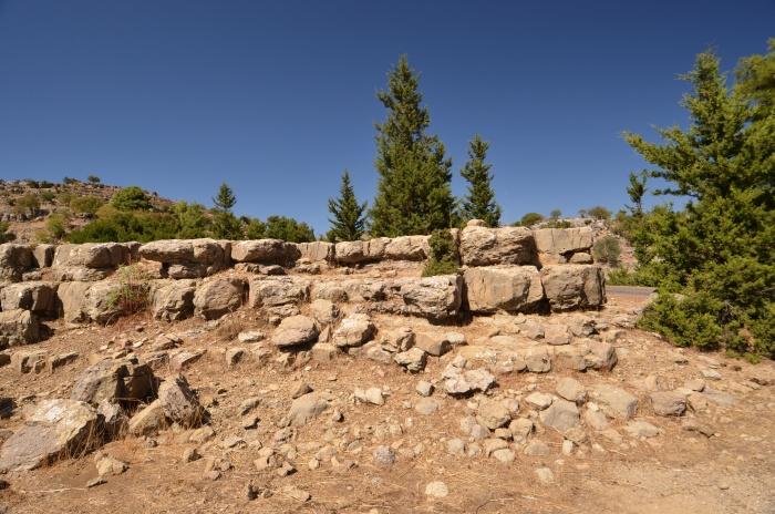 Podbudowa jednej ze świątyń w Selge