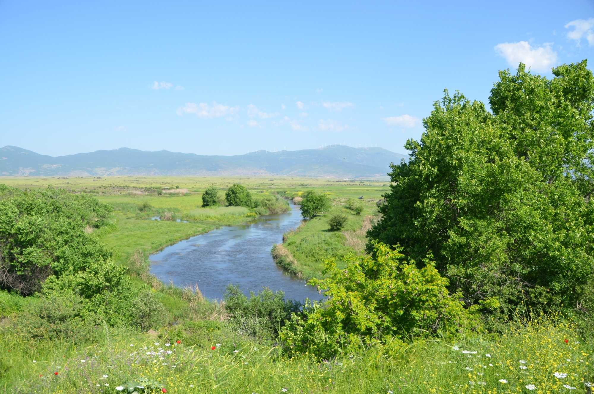 Rzeka Karasu widziana z Tilmen Höyük
