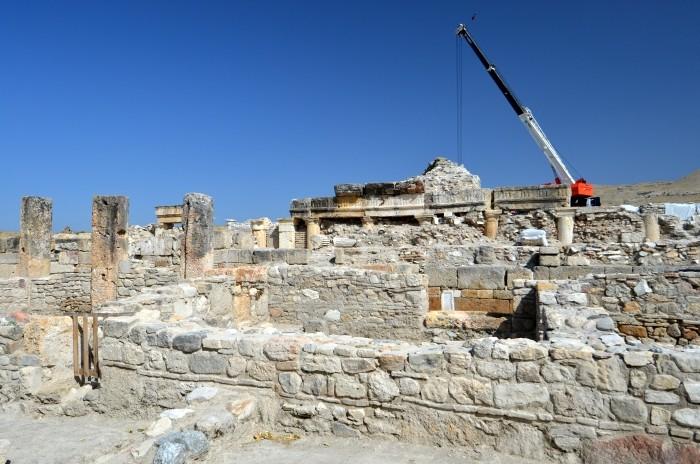 Prace rekonstrukcyjne w Tripolis