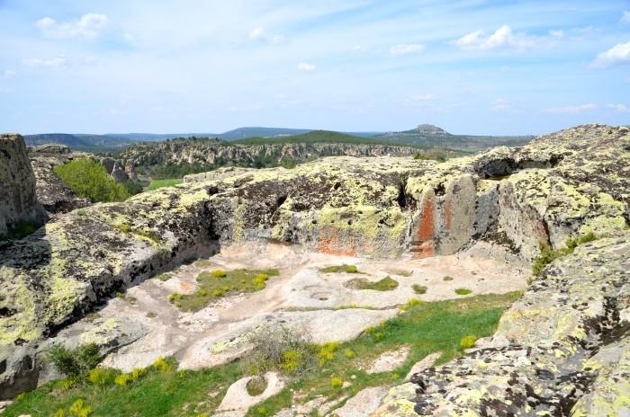 Na akropolu w Yazılıkaya