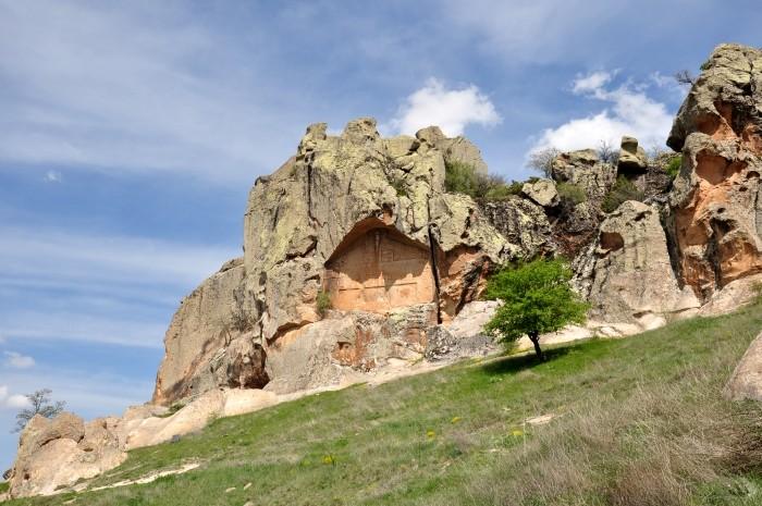 Niedokończony Monument w Yazılıkaya
