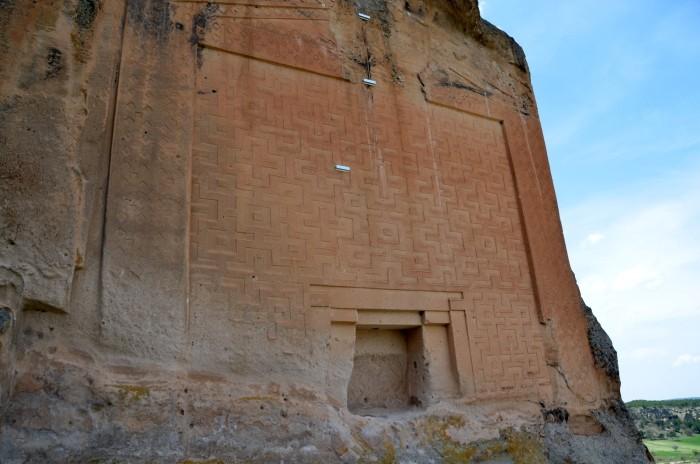 Monument Midasa w Yazılıkaya