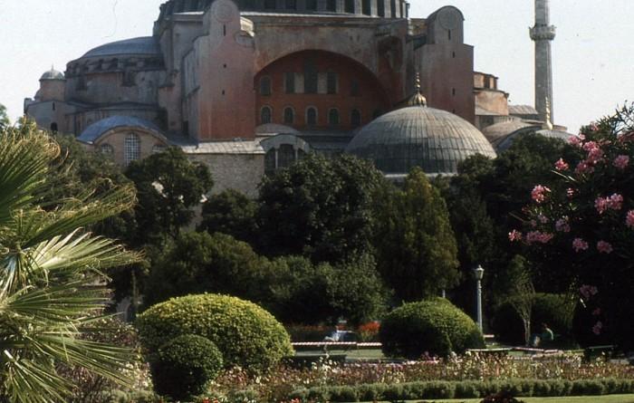 Hagia Sophia slajd z 1998